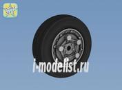 NS72074 North Star 1/72 F-15 E/ I /K Wheels set. No mask series