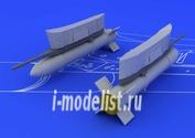 672009 Eduard 1/72 Набор дополнений S-21 Soviet unguided rocket