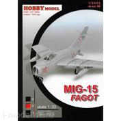 99 Hobby Model 1/33 MiGG-15 Fagot