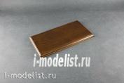 PL28 Plate Подставка для модели (покрытая) 120х220 мм