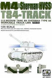 AF35033 AFVClub 1/35 Scale tracks for Sherman M4 HVSS T-84
