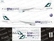 773-006 Ascensio 1/144 Декаль для boein 777-300ER (One World)