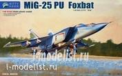 KH80136 Kitty Hawk 1/48 Самолет Mig-25PU Fowbat