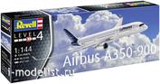 03881 Revell 1/144 Самолет Airbus A350-900 Lufthansa New Livery