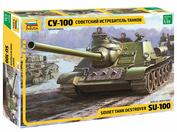 3688 Звезда 1/35 Советский истребитель танков СУ-100