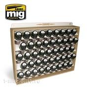 AMIG8006 Ammo Mig system for storing 35 ml jars