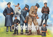02621 Revell 1/48 Pilots & Ground Crew Luftwaffe WWII