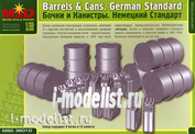 35010 Макет 1/35 Бочки и канистры. Немецкий стандарт.