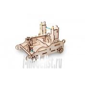 1-01 EWA Коллекционная механическая модель из древесины Баллиста