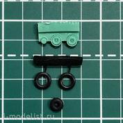 EQG48020 Экипаж 1/48 Резиновые колёса для МuГ-15/17