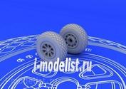 672016, Eduard 1/72 Kit P-51 wheels