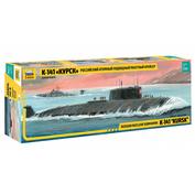 9007 Звезда 1/350 Российский атомный подводный ракетный крейсер К-141 «Курск»