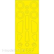 CX587 Eduard 1/72 Paint Mask for Su-39