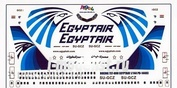 PD-14403 PasDecals 1/144 Decal for Boeing 737-800 EGYPTAIR