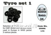 35000 Mirror-Models 1/35 Tyre set 1