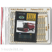 WMC-46-1 W. M. C. Models 1/25 Optional Kit for the Palesse GS12 Model (laser cutting)