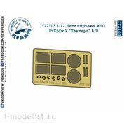 F72103 SG Modelling 1/72 Detailing MTO PzKpfw V
