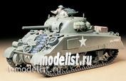 35190 Tamiya 1/35 Американский средний танк М4 Sherman (ранняя версия) 1942г. с 3 фигурами танкистов