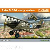 70103 Eduard 1/72 Avia B-534 ранняя серия DUAL COMBO