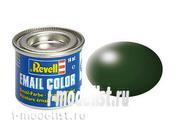 32363 Revell Краска эмалевая темно-зеленая RAL6020 (dark green, silk RAL 6020)