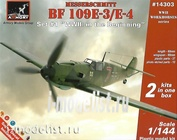 14303 Armory 1/144 Самолет Messerschmitt Bf 109E-3/E-4 WWII: in the beginning
