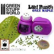 1416 Green Stuff World Инструмент для создания листьев клёна, фиолетовый / Miniature Leaf Punch MEDIUM PURPLE