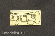 35010 Vmodels 1/35 Фототравление Шанцевый инструмент на советскую бронетехнику