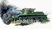 6129 Звезда 1/100 Советский легкий танк БТ-5 (для игры