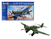 04692 Revell 1/72 Самолёт Junkers Ju 87 G/D Tank Buster