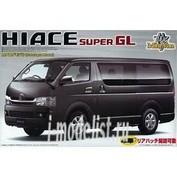 046500 Автомобиль  Aoshima 1/24  HIACE(Type 200) SuperGL`07Model (Model Car) Minivan