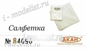 84090 Акан Супермягкая профессиональная нетканная салфетка для полировки (1 шт.)