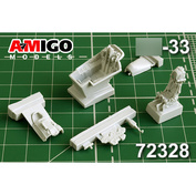 AMG72328 Amigo Models 1/72 Кабина самолёта для Суххой-33