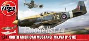 14003 Airfix 1/24 Самолет North American P-51K/RF Mustang