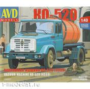 1256KIT AVD Models 1/43 Cборная модель Вакуумная машина КО-520 (4333)