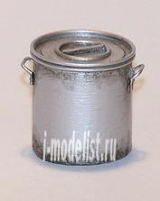 EL042 Plusmodel 1/35 U.S. pot WWII (металлическая емкость, США, Вторая Мировая война, 2 штуки)