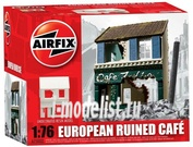 75002 Airfix 1/76 European Ruined Café