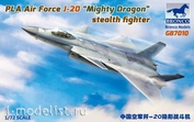 GB7010 Bronco 1/72 PLA Air Force J-20A Stealthfighter