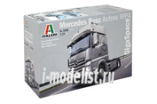 3905 Italeri 1/24 Грузовик MERCEDES BENZ ACTROS MP4 GIGA