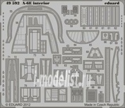 49592 Eduard 1/48 Фототравление для A-6E interior S.A.