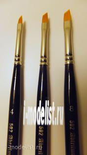 ABT-845-6 Abteilung 502 Angle Blender Brush/6