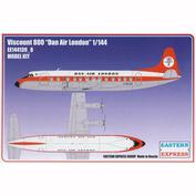 144139-8 Восточный экспресс 1/144 Самолёт Viscount 800 Air Dan London