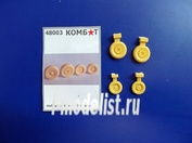48003 Комбат 1/48 Набор колёс на А-7D Corsair II