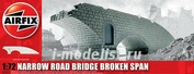 75012 Airfix 1/72 Narrow Road Bridge Broken Span