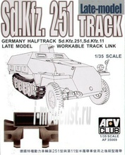 AF35069 AFVClub 1/35 Sd.Kfz.251 late type workable track