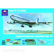14401 Ark-models 1/144 Airliner Boeing-707 Pan American