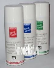 28530 Vallejo Varnish in an aerosol factory default setting., 400ml.