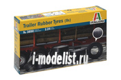 3890 Italeri 1/24 Trailer Rubber Tyres