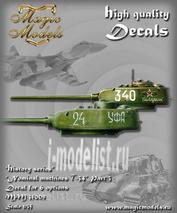 MM35009 Magic Models 1/35 Декаль Nominal Machines T-34. Part 3