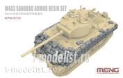 SPS-070 Meng 1/35 M4A3 Sandbag Armor (Resin)