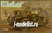 72007 IBG models 1/72 Polski FIAT 508/III Lazik early version